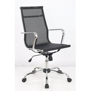 Furniture Design Group Excaliber High-Back Mesh Executive Ofice Chair with Arms