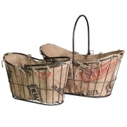 Style Craft 2 Piece Metal Basket Set