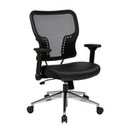 Office Star Space 21.25'' with 4 Way Adjustable Flip Arms