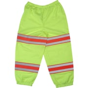 Mutual Industries ANSI Class E Mesh Pants, Lime