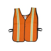 Mutual Industries MiViz Orange High Visibility Flame Retardant Welders Vests
