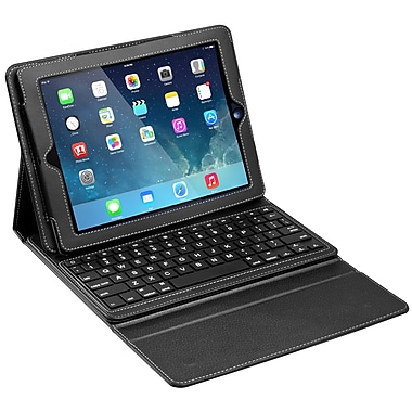 Chester Creek™ Keyboard/Cover Case For iPad Air, Black