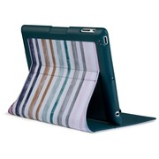 Speck® Fitfolio Burton Protective Case For iPad 2/3/4, Palette Stripe Print/Bayou