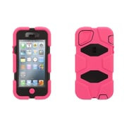Griffin Technologies® Survivor Case For iPhone 5/5S, Pink/Black