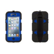 Griffin Technologies® Survivor Case For iPhone 5/5S, Blue/Black