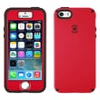 Speck® CandyShell Case With FacePlate For iPhone 5/5S, Pomodoro Red/Black