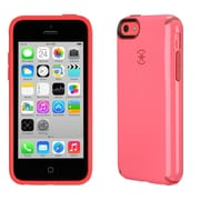 Speck® CandyShell Case For iPhone 5C, Splash Pink/Poppy Red Core