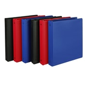 Samsill® Value Basic 1 Capacity Round Ring Binder, Assorted