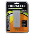 Duracell® 4000 mAh Portable Mico USB Powerbank For iPhone/iPod, Silver