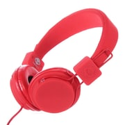 Subjekt TNT Low Profile Headphone With Mic, Hot Red