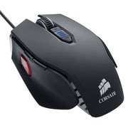 Corsair® Vengeance® M65 FPS Laser Gaming Mouse, Gunmetal Black