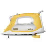Oliso® Pro™ 1800W Smart Iron With iTouch® Technology, Yellow/White