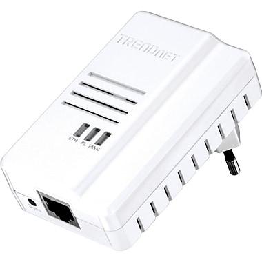 TRENDnet TPL-408E2K 600 Mbps Powerline Gigabit Ethernet HomePlug AV2 Network Adapter Kit