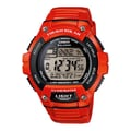 Casio® WS220C Solar Runner Digital Wrist Watch, Red