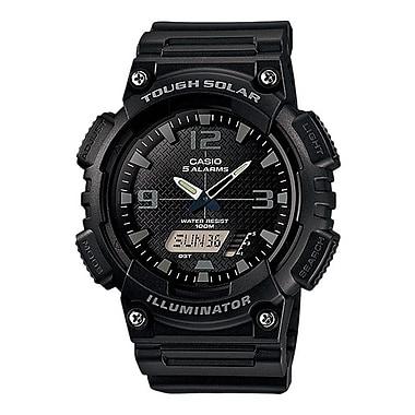 Casio® AQS810W Solar Analog/Digital Wrist Watches