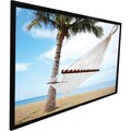 Elite Screens® ezFrame 110in. CineGrey 5D Fixed Frame Projector Screen, 16:9, Black Casing