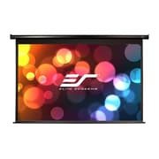 Elite Screens® Spectrum 110 MaxWhite Electric Projector Screen, 16:9, Black Casing
