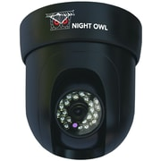 Night Owl CAM-PT-624-B 600 TVL Pan and Tilt Indoor Dome Camera, Black