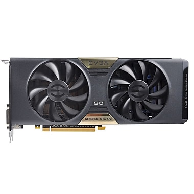 EVGA® GeForce GTX 770 4GB Plug-in 7010 MHz Graphic Card