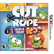 Activision® 84966 Cut The Rope Triple Treat Game, Puzzle, Nintendo 3DS™