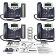 XBlue Networks® XB44 4-Phones Line Business VoIP System For Small Business