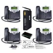 XBlue Networks® XB25 4-Phones Line Business VoIP System For Small Business