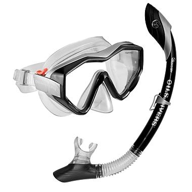 Aqua Lung® U.S. Divers® Anacapa Island Snorkel Set, Black