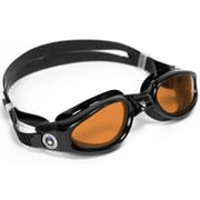 Aqua Lung® Aqua Sphere® Kaiman Regular Fit Goggle With Amber Lens, Black