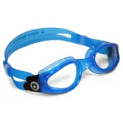 Aqua Lung® Aqua Sphere® Kaiman Small Fit Goggle With Clear Lens, Trans Aqua