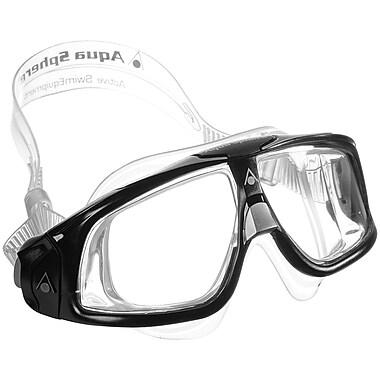 Aqua Lung® Aqua Sphere® Seal Mask With Clear Lens, Black/Gray