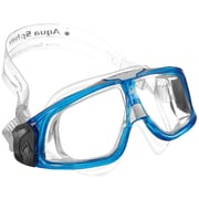 Aqua Lung® Aqua Sphere® Seal 2.0® Mask With Clear Lens, Trans Blue/White