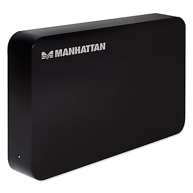 Manhattan SATA Drive 130295 SuperSpeed USB 3.5-Inch SATA Drive Enclosure