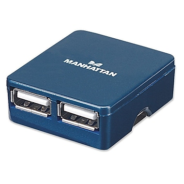 Manhattan 4 Port 160605 Hi Speed USB Micro Hub