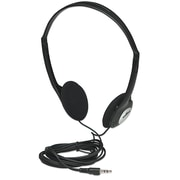 Manhattan 177481 Stereo Over-Ear Headphone, Black