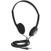 Manhattan 177481 Stereo Over-Ear Headphone, Black