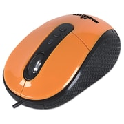 Manhattan USB 1.1 177696 RightTrack Mouse, Orange