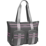 OGIO® Lisbon Carrying Case For 13 Notebook, Gray/Pink
