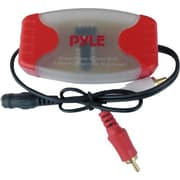 "Pyleaudio® PLGI36R 3.5mm - 1/8"" To RCA Stereo Audio Ground Loop Isolator"