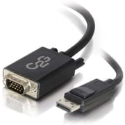 C2G® 3' DisplayPort Male/VGA Male Active Adapter Cable, Black
