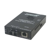 TRANSITION NETWORKS Stand Alone SGFEB1040-120-NA Media Converter 10/100/1000-BTX to 1000BASE SFP LC