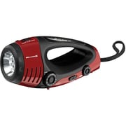 DPI/GPX-PERSONAL & PORTABLE X WF382R  Weatherband AM/FM Flashlight with Hand Crank