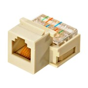 STEREN-CUSTOM INSTALL 310-106IV-10 Telephone Keystone Modular Jack