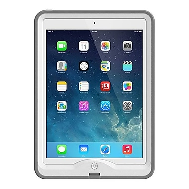LifeProof 1901-02 NUUD Marine Case for Apple iPad Air, Gray/White