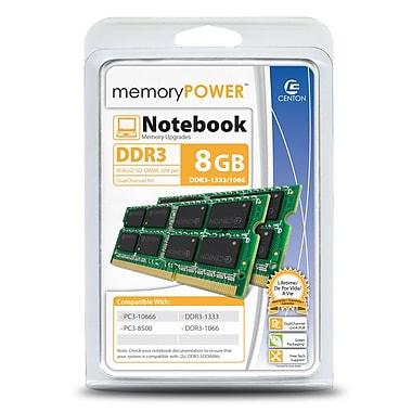 Centon R1333SO4096K2 8GB (2 x 4GB) DDR3 200-Pin Laptop Memory Module Kit