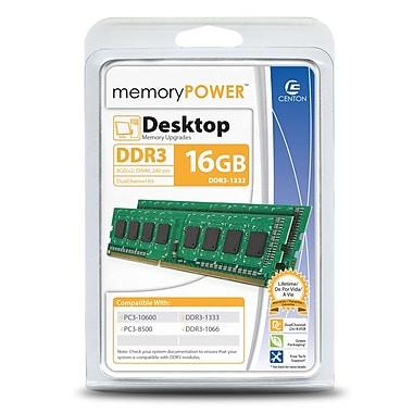 Centon R1333PC8192K2 16GB (2 x 8GB) DDR3 240-Pin Desktop Memory Module Kit