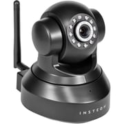 INSTEON® 75790 5.5 W Indoor Wireless IP Security Camera With Night Vision, Black
