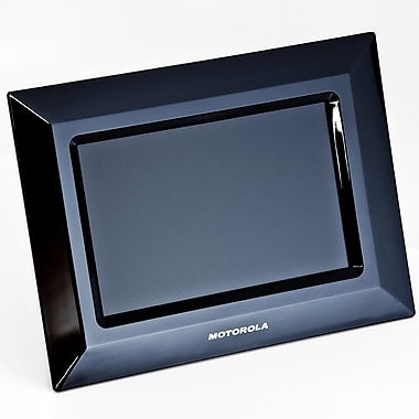 Motorola® MF700 7in. Digital Photo Frame With Slideshow, Black