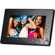 Ahlo Inc GB-711P GIINII™ 7 Bling Digital Picture Frame, Black Dazzle