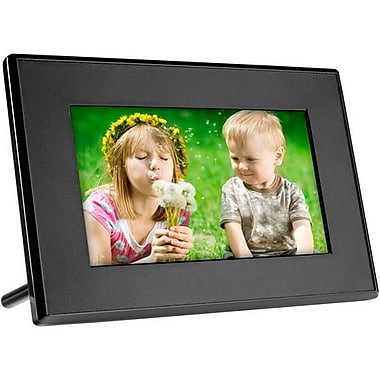 Ahlo Inc GT-701P GIINII™ 7in. LED Digital Picture Frame, Black