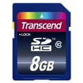 Transcend® Industrial 8GB SDHC Class 10 Memory Card